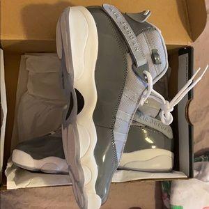 Jordan Shoes - Grey Jordan 6 rings(GS) NEVER WORN